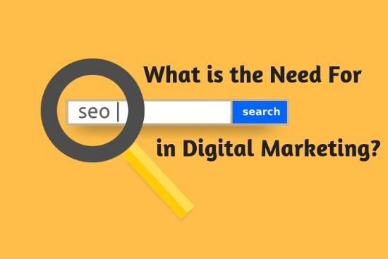 What is the need for SEO in Digital Marketing
