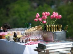 Let your reception party etch a beautiful memory in the guests mind