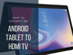 How to Connect an Android Tablet to HDMI TV