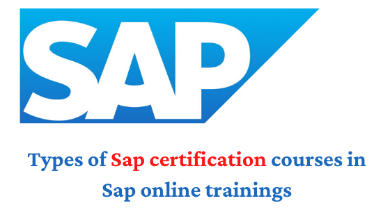 Types of Certification Courses in SAP Online Training