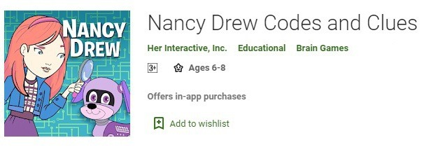 Nancy Drew: Mystery Coding with the Codes & Clues