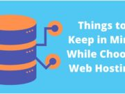 Things to Keep in Mind While Choose Web Hosting